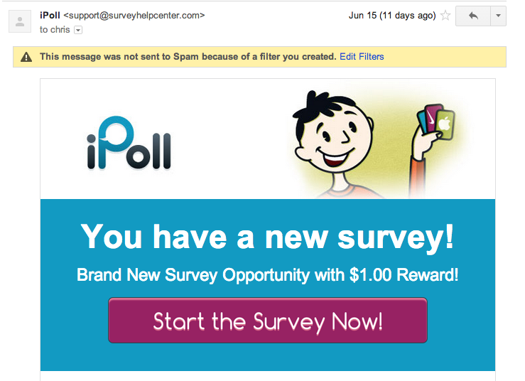 Ipoll Email Invite