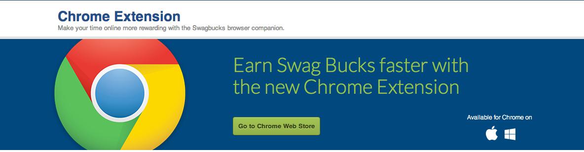 Swagbucks Extension